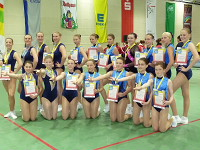 Team-Aerobic in Offenburg